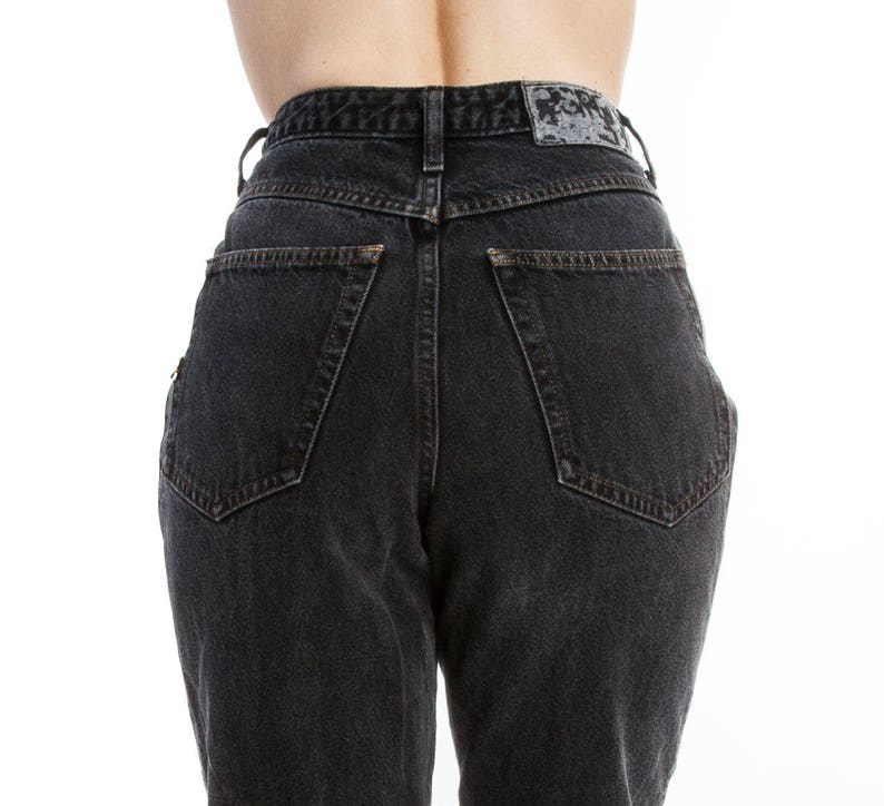 df004ae8bc1d Vintage ESPRIT grey black mom jeans vintage high waist