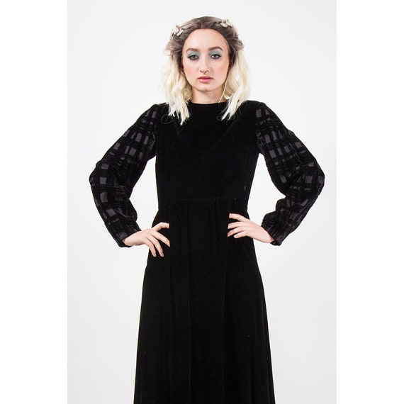 Vintage GIVENCHY / 1960s 1970s Maxi dress / Eveni… - image 2