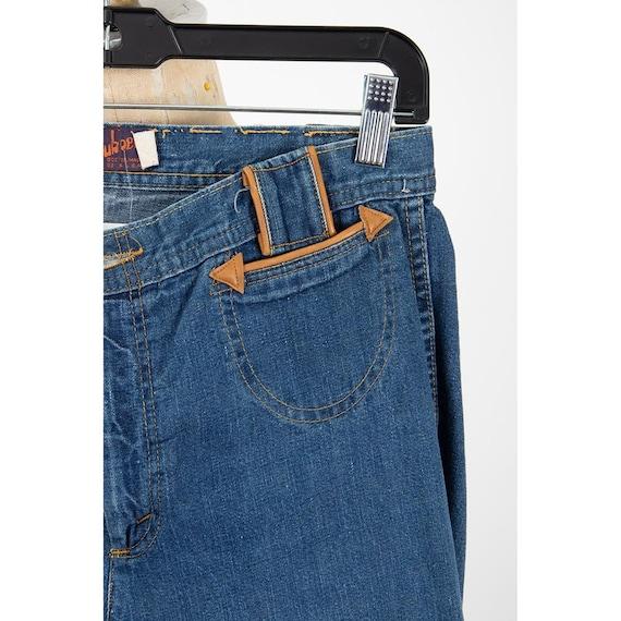 Vintage Landlubber jeans / 1970s high waist bell … - image 5