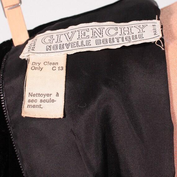 Vintage GIVENCHY / 1960s 1970s Maxi dress / Eveni… - image 10