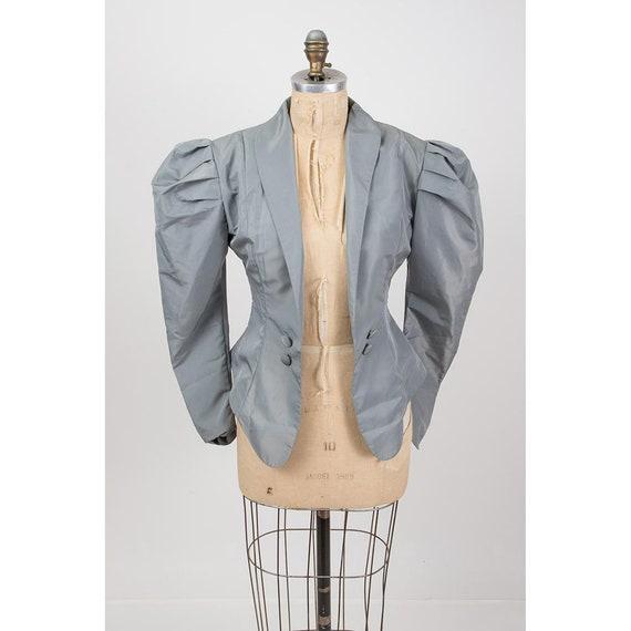 Vintage Norma Kamali / 1980s 2 piece skirted suit… - image 3