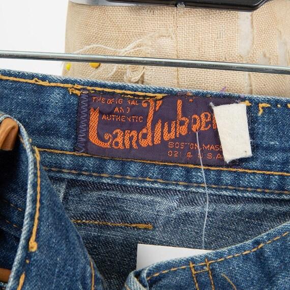 Vintage Landlubber jeans / 1970s high waist bell … - image 8