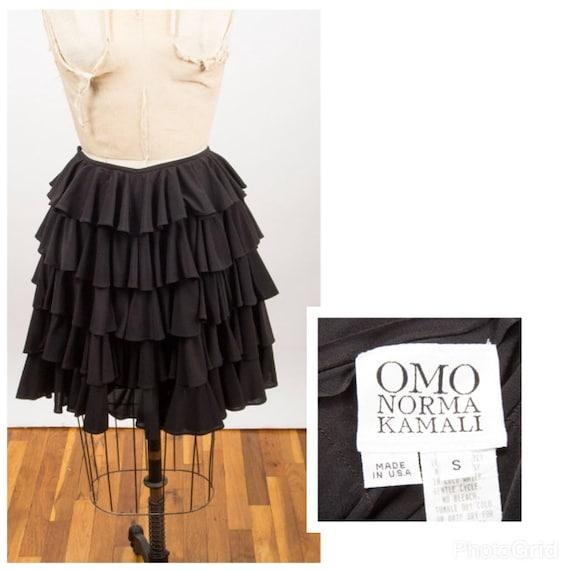 NORMA KAMALI / Vintage OMO iconic tiered ruffled … - image 5