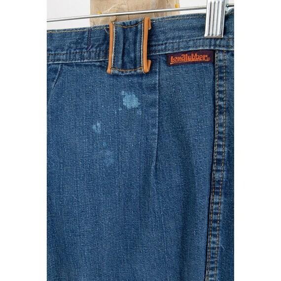 Vintage Landlubber jeans / 1970s high waist bell … - image 10