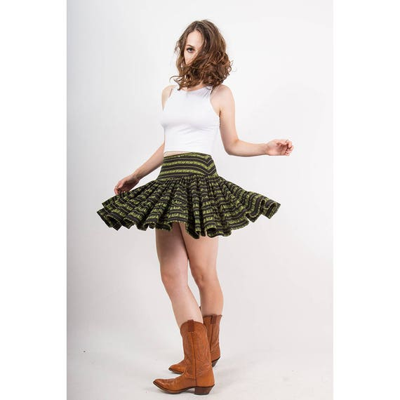 Vintage Betsey Johnson / 1980s punk label tiered s