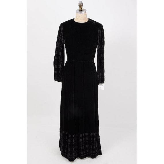 Vintage GIVENCHY / 1960s 1970s Maxi dress / Eveni… - image 8