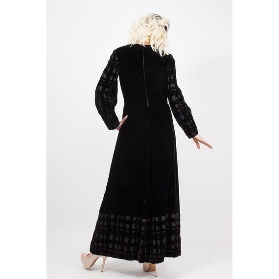 Vintage GIVENCHY / 1960s 1970s Maxi dress / Eveni… - image 7