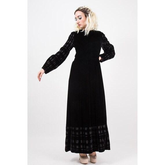 Vintage GIVENCHY / 1960s 1970s Maxi dress / Eveni… - image 3
