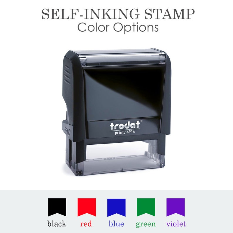 Save the Date Stamp Rubber Stamp Personalized Stamp 22 Stamp Custom Stamp Self Inking Stamp No Return Address Stamp