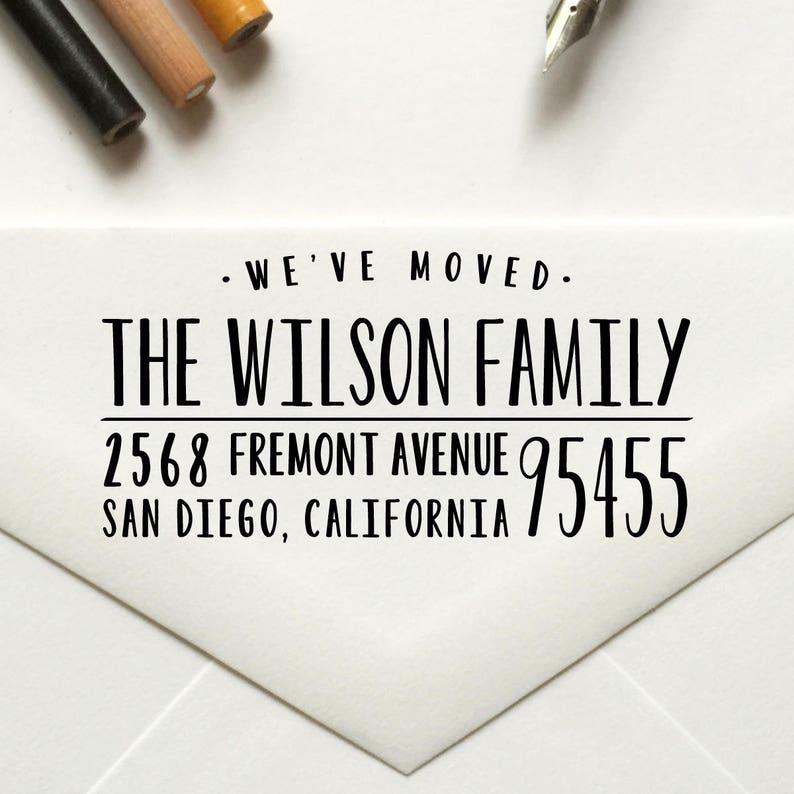 Stamp Return Address Custom Self Inking Rubber
