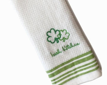 St Patricks Day Decor, St. Patricks Day Decorations, St Patricks Day Towels, Kitchen Towels, Dish Towels, Hand Towels, Towel for Dish