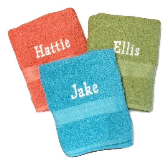Personalized Bath Towels Embroidered Bath Towel Personalized Towels Embroidered Towels Bath Towels Personalized Embroidered Towels