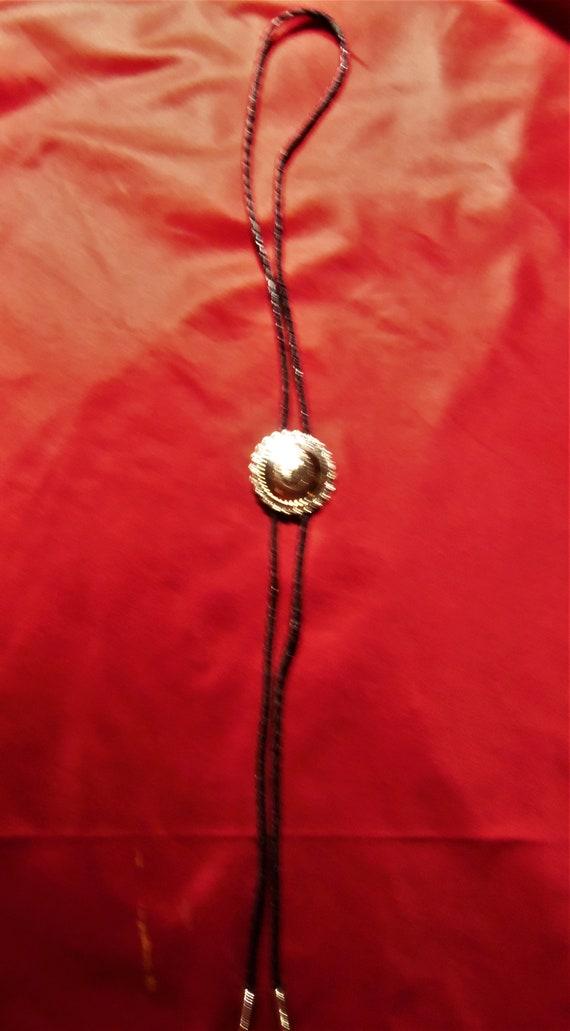 Three 1970's  Western Bolo Ties, Vintage