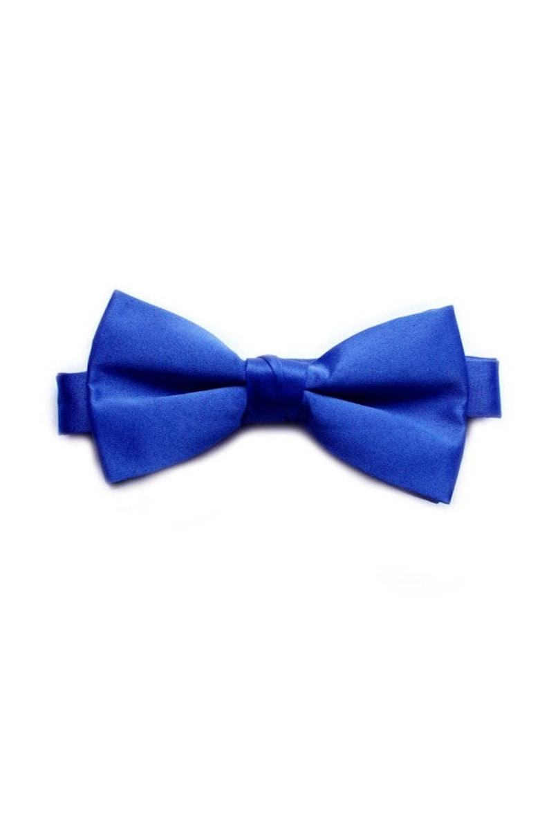 b2cd9059ea95 Men's Royal Blue Bow Tie   Etsy
