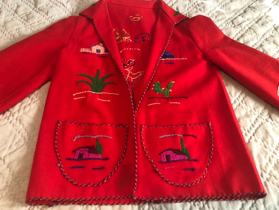 1950s Mexican Souvenir Jacket