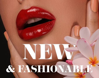 5 animated ads for website. Ready to use. One floral vintage and four fashion designs: makeup, bags collection, jewelry, shoes. GIF graphics