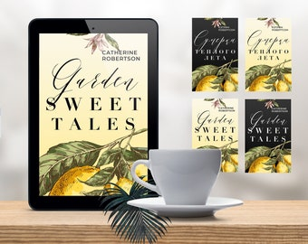 Premade book cover for Amazon Kindle. Ebook. custom design. premium elements. Dark and light. Latin and cyrillic fonts. Edit in PS or Canva.