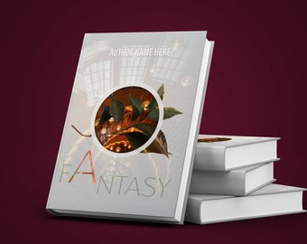 Book Cover Template Fantasy Designed For Online Shops Pre Made Digital Customisable Prose Fanfiction Writings