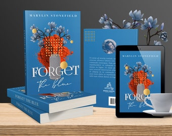 Premade book cover. Contemporary prose. Hardcover/paperback 6x9, square 8.5x8.5, Amazon Kindle. Custom conceptual design with 3D elements.
