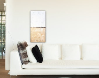 A. Traub Malerei 40x80 Cm Acryl Auf Leinwand Kunst Modern Abstrakt Gemalt,  Wandbild, Acrylbilder, Acrylmalerei, Original Bilder, Unikate