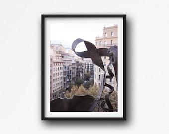 Bacelona, Travel Photography, Photos of Spain, Spain Art, Fine Art Photography, Livingroom Wall Art, Cityscape, Spain Print,