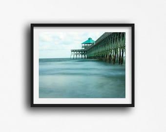 Folly Beach SC, Beach Photography, Charleston South Carolina, Beach Pictures, Charleston SC Prints, Beach Prints, Pier Photos,
