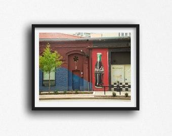 Greenville SC Prints, Greenville South Carolina Photography, Modern Wall Art, Graffiti,  Photo Print - Gifts for Greenville SC Residents
