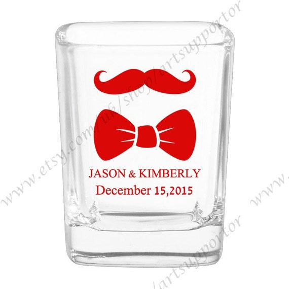 Hochzeit individuelle Tassen Gläser 026 B erschossen | Etsy