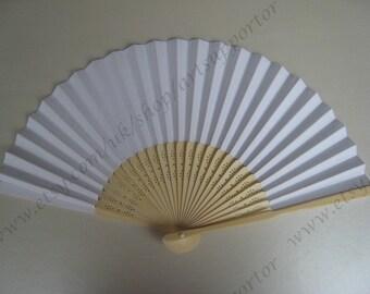 weißen niedrigen Preis Papier Ventilatoren Großhandel versandkostenfrei
