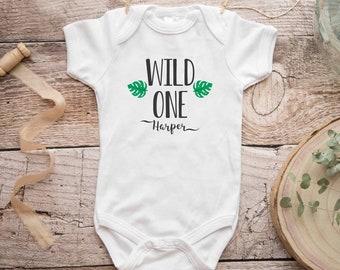 Wild One Birthday Boy Shirt, First Birthday Kids Shirt, Zoo Birthday Shirt, Boy Zoo Safari Birthday, One Birthday, First Birthday Outfit