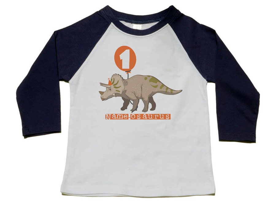 Dinosaur Birthday Shirt 1st T 2nd 3rd