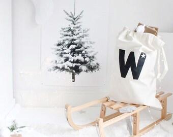CUSTOMISED cotton canvas toy storage, personalised toy sack, toy storage bag, kids stylish storage, handmade