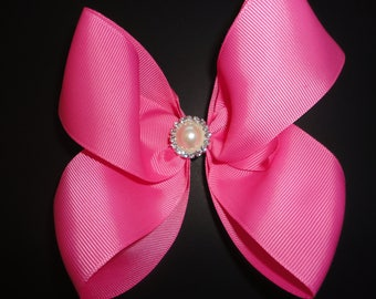 Gorgeous Hot Pink Bow