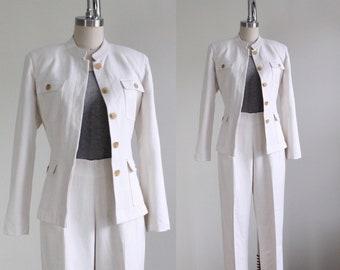 533050f567a5 Vintage Silk Pant Suit