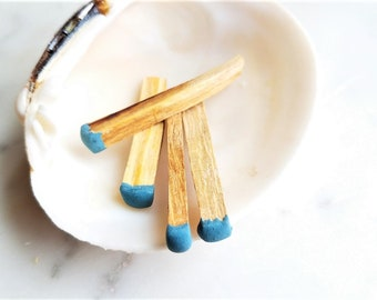 Palo Santo Matchsticks | Energy Cleansing Kit | Incense Match | Smudge Stick | Housewarming Gift