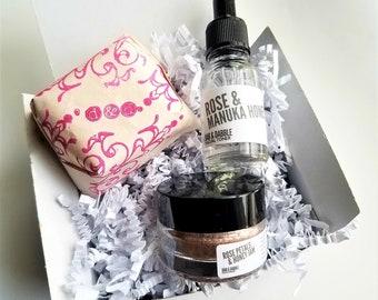 Rose Skin Care Set