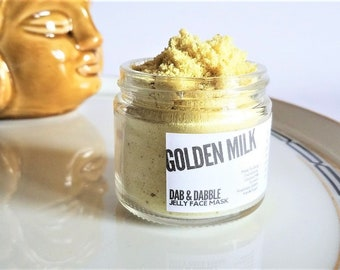 Golden Milk Turmeric Face Mask