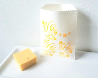 Turmeric Soap Sample | Turmeric, Coconut Milk, Shea Butter & Manuka Honey Soap | Tumeric Soap