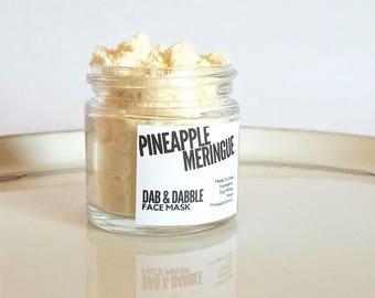 Pineapple Face Mask | Skin Firming Pore Minimizer | Egg White Enzyme Mask