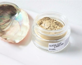 Glacial Clay & Honey Jam Face Mask | Jelly Face Mask | Clay Face Mask | Detox Mask