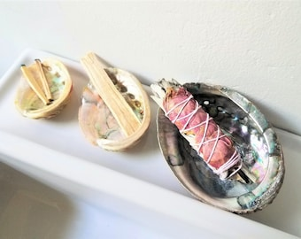 Abalone Shell Smudge Bowl | Choose A Size
