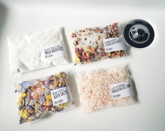 Bath Soak |  Bath Fizz, Bath Salt  & Milk Bath