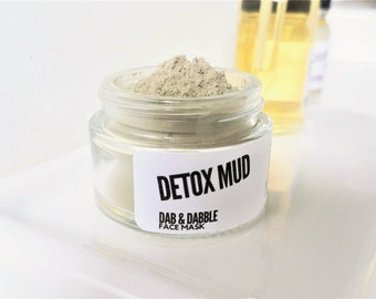 Detox Mud Mask | Clay Face Mask | Dead Sea Mud Mask