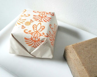 Coffee Scrub Bar Soap | Exfoliating Soap | Gift For Coffee Lover