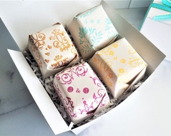 Soap Gift Box | Handmade Artisan Soap Gift Set | Hostess Gift Box | Christmas Gift