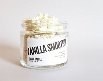 Vanilla Smoothie Face Mask | Gentle Face Scrub | Cleansing Grains