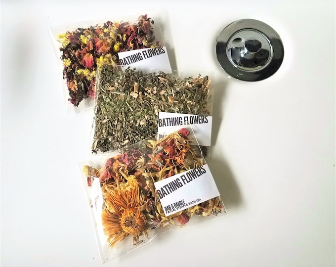 Featured listing image: Facial Steam  & Bath Tea Bag Samples