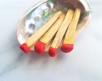 Palo Santo Matchsticks | Mini Incense Match Smudge Stick 4 Pack Smudge Kit | Energy Cleansing Kit