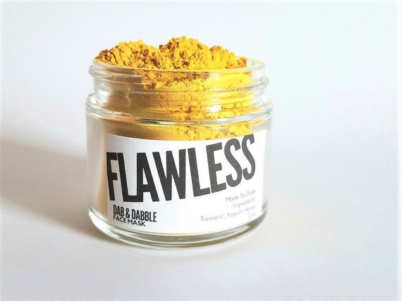 Dabble and Dabble Tumeric Face Mask