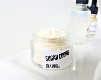 Sugar Cookie Jelly Face Mask | Soothing Facial Mask for Sensitive Skin |  Hydrating Mask for Dry Skin
